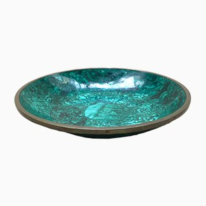 Vintage Malachite Bowl