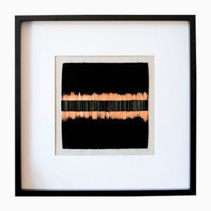 Scapes Textilkunst-Wandarbeit aus von Zuzana Lalikova