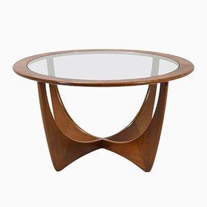 Mid-Century Tisch aus Afromosia & Glas von Victor Wilkins für G-Plan, 1960er