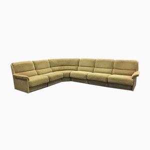 Großes unterteiltes Vintage Sofa in Grün von Laauser, 1960er