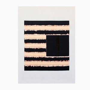 Art Mural en Lignes Brodées par Zuzana Lalikova, 2018