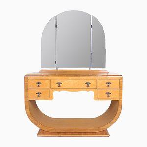 Tocador vintage de madera de arce