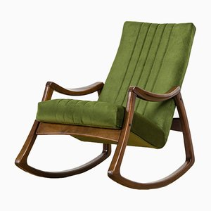 Rocking Chair Vintage de TON, 1970s