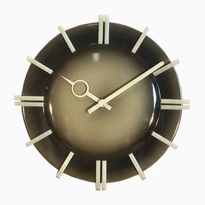 Industrial Wall Clock from Pragotron, 1970s