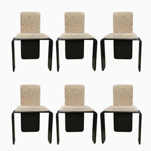 Dining Chairs by N. O. Møller, 1970s, Set of 6