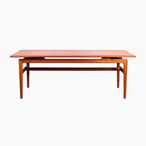 Table Basse Mid-Century en Teck par Peter Hvidt & Orla Mølgaard Nielsen, Danemark