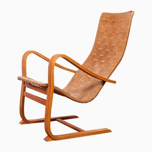 Lounge Chair by Gustaf Axel Berg, 1940s