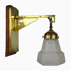 Lámpara de pared modernista