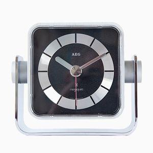 Minimalistische Uhr von AEG, 1970er