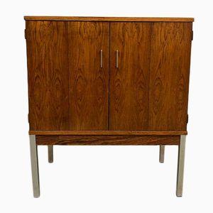 Vintage Minimalist Rosewood Cabinet