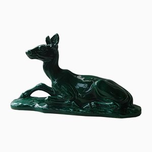 Ceramic Doe Sculpture from Bonome Paris, 1960s
