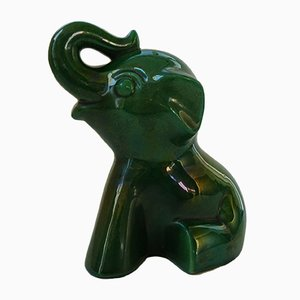 Elephant Calf Moneybox from Saint-Clement, 1950s