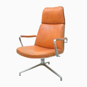 JK 9451 Swivel Chair by Jørgen Kastholm for Kill International, 1970s