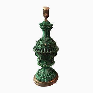 Vintage Manises Ceramic Lamp