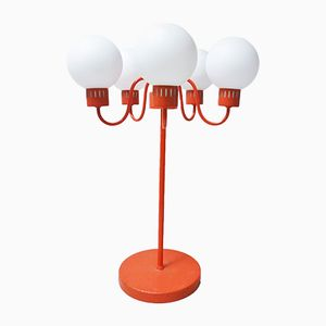 Scandinavian 5-Arm Table Lamp, 1960s
