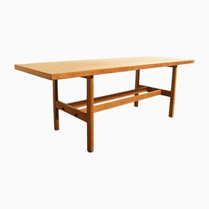Vintage Danish Oak Coffee Table by Borge Mogensen for FDB