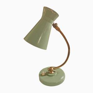 Lámpara de mesa italiana flexible, años 50