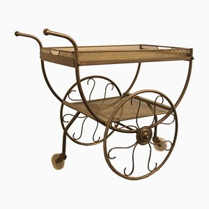 Mid-Century Serving Cart by Josef Frank for Svenskt Tenn