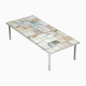 Table Basse Mid-Century en Céramique par Pia Manu