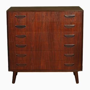 Large Mid-Century Danish Chest of Drawers
