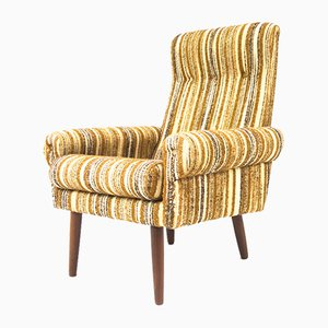 Woollen Club Armchair, 1960s