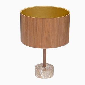 Lámpara de mesa Orange Shade con pantalla dorada de Chiara Mennini para Midsummer-Milano