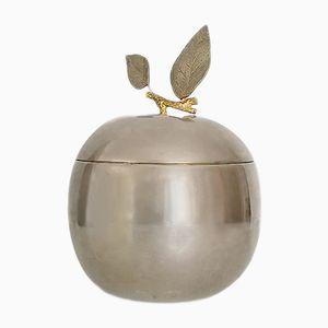 Secchiello per il ghiaccio a forma di mela di Freddo Therm, anni '70