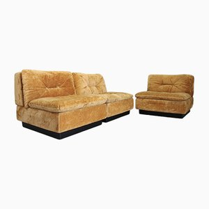 Vintage Italian Lounge Sofa from Saporiti