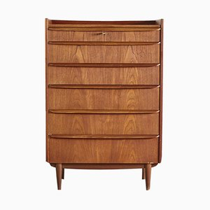 Mid-Century Danish Chest of Drawers, 1960s