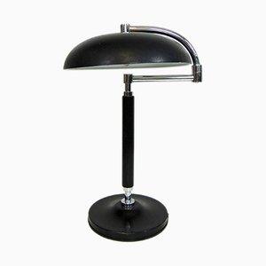 Lampada da tavolo orientabile in metallo, anni '60