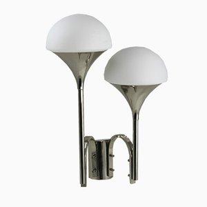 Mid-Century Wandlampen von Goffredo Reggiani für Reggiani, 2er Set