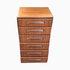 Fresco Tallboy Drawers by Victor Wilkins from G-Plan