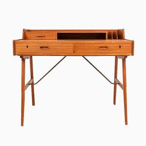 Schreibtisch aus Teak von Arne Wahl Iversen für Vinde, 1960er