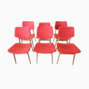 Italian Chairs from Pizzetti, 1953, Set of 6