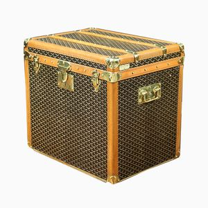 Canvas Mail Trunk from Goyard, 1920s