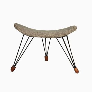 Mid-Century Danish Tripod Footstool