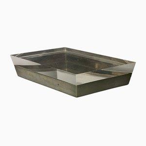 Caja de metal y plexiglás de Gabriella Crespi, años 70