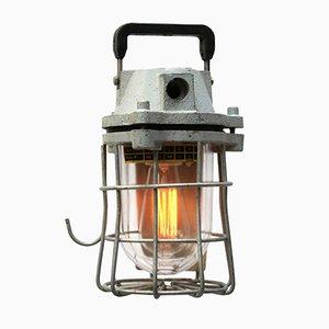 Lampada da miniera Mid-Century industriale, anni '60