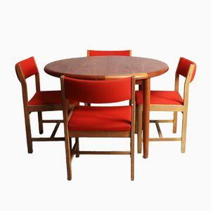 Mid-Century Dining Set by Børge Mogensen