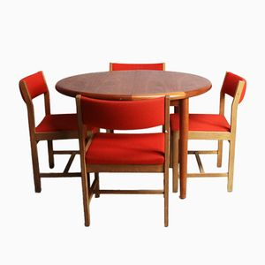 Set da pranzo Mid-Century di Børge Mogensen