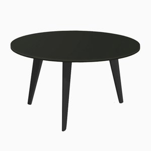 Large BIDULE Coffee Table in Black Lacquered Oak by Henri Tujague