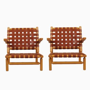 Lounge Chairs by Ilmari Tapiovaara for Asko, 1955, Set of 2