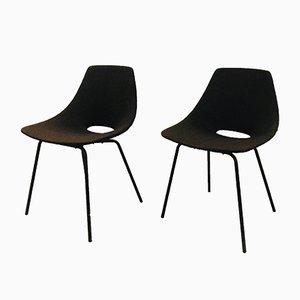 Tonneau Stühle von Pierre Guariche für Steiner, 1954, 2er Set