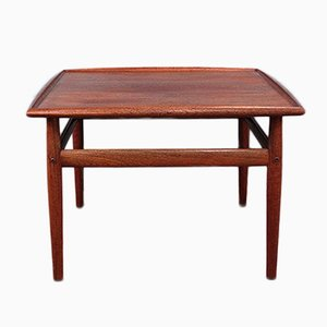 Table Basse Carrée par Grete Jalk, 1950s