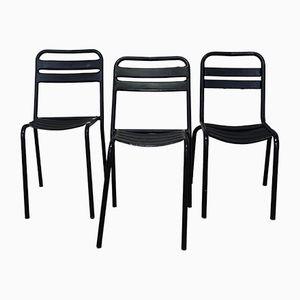 Mid-Century Stühle von Xavier Pauchard für Tolix, 3er Set