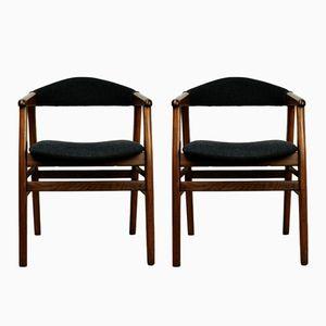 Mid Century Danish Armchairs, 1960s, Set of 2