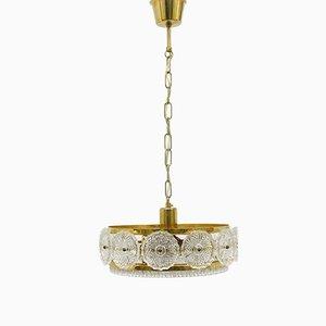 Lámpara de techo de Carl Fagerlund para Orrefors, años 60