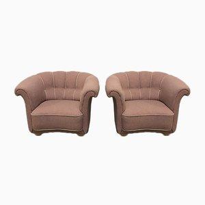 Dänischer Vintage Sessel, 1940er, 2er Set