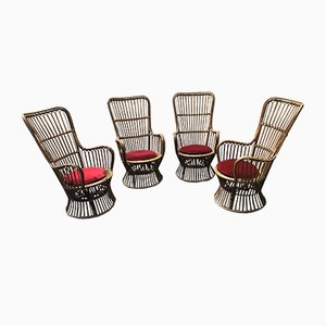 Armchairs from Bonacina, 1960s, Set of 4