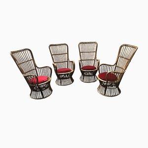 Sessel von Bonacina, 1960er, 4er Set
